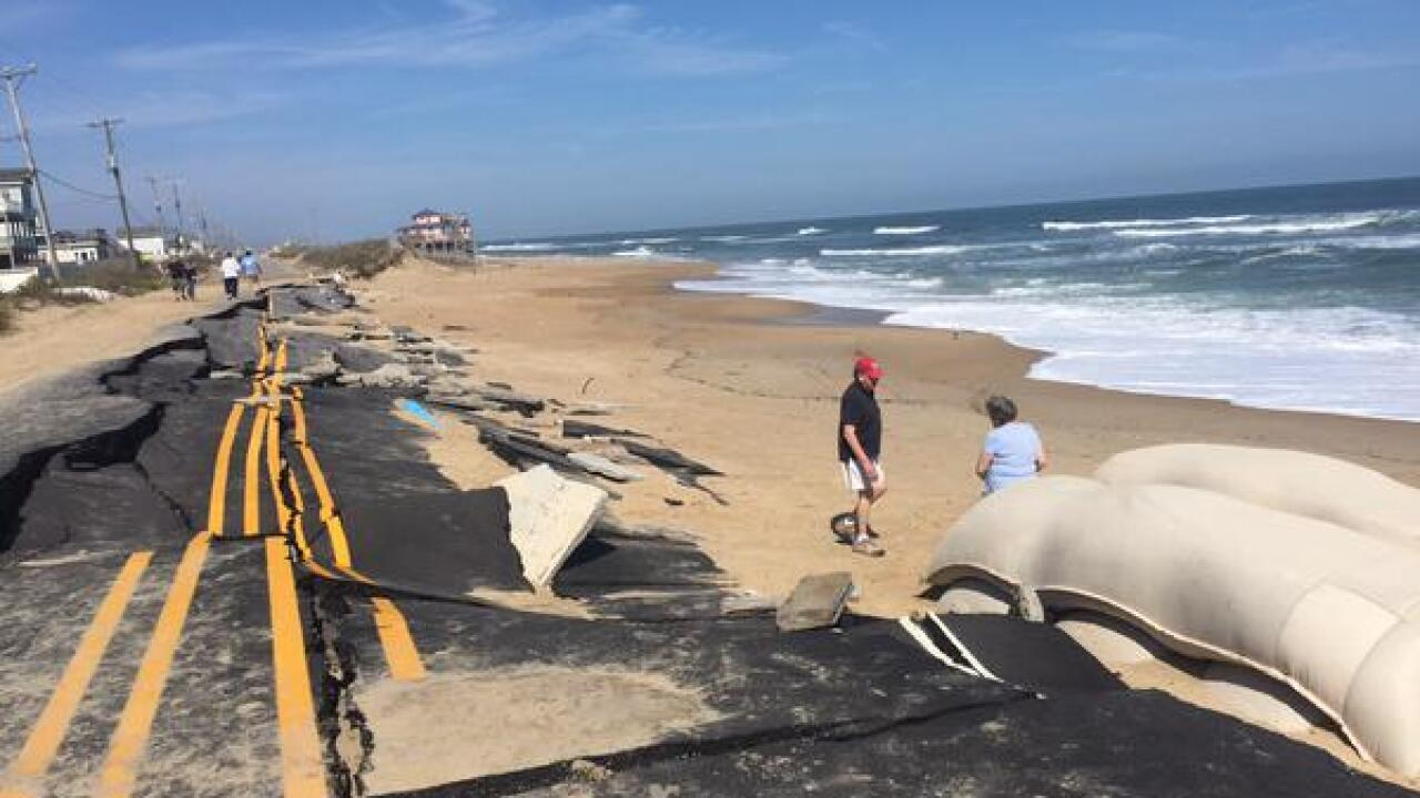 New plans in place for damaged NC-12 in Kitty Hawk