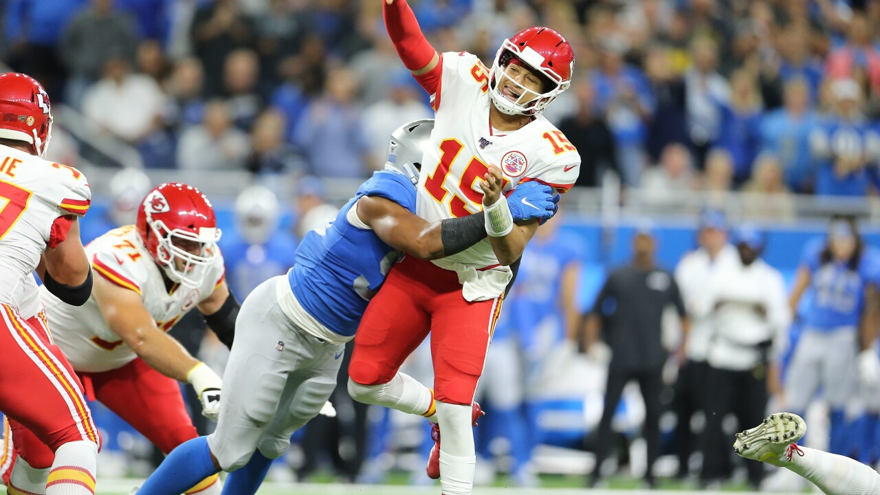 Lions get a breather amid tough stretch of opposing QBs