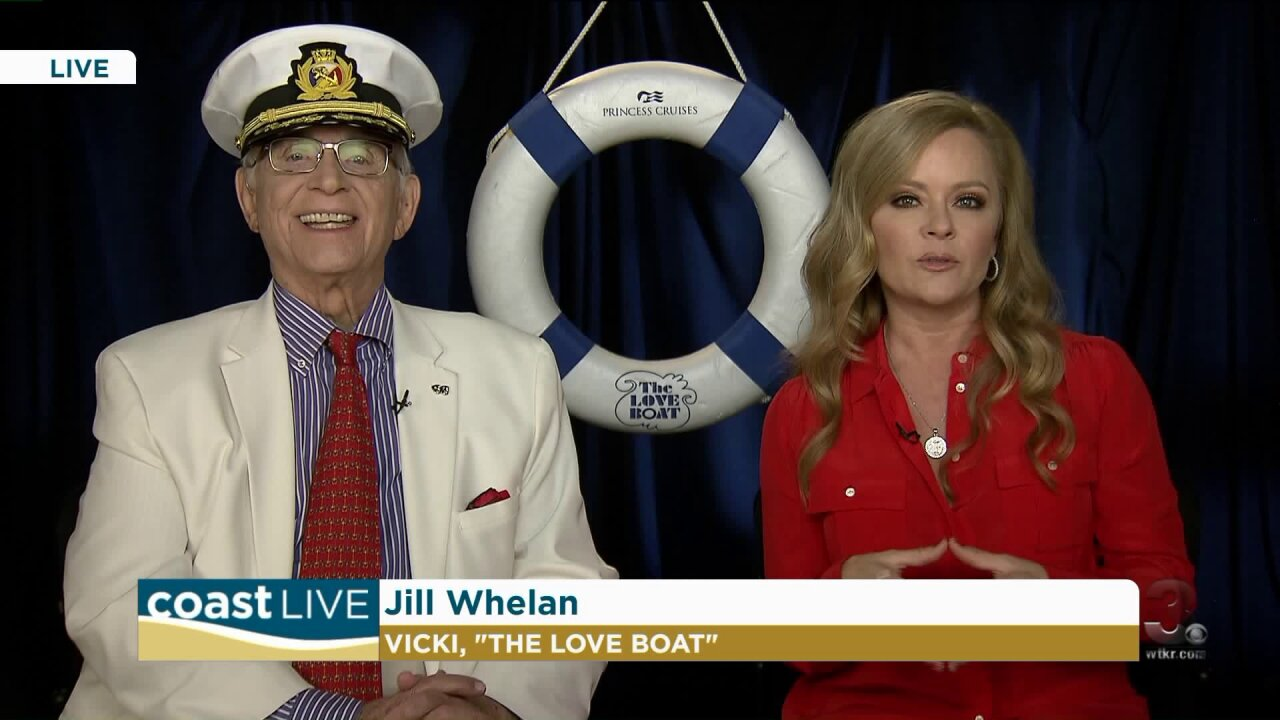 """The Love Boat"" stars Gavin MacLeod and Jill Whelan on CoastLive"