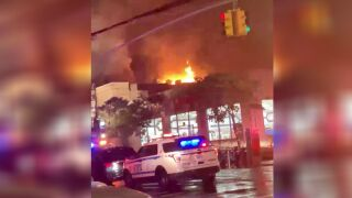 Bronx two-alarm fire