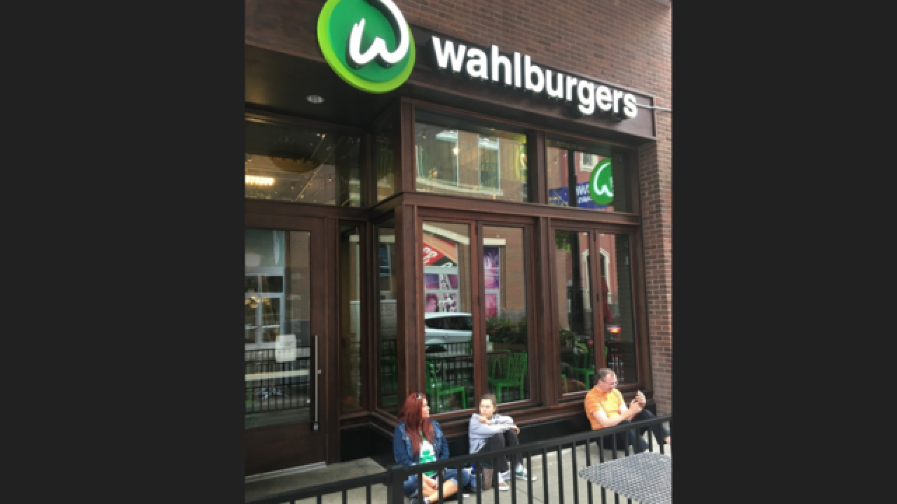 Wahlburgers in Greektown officially opens today