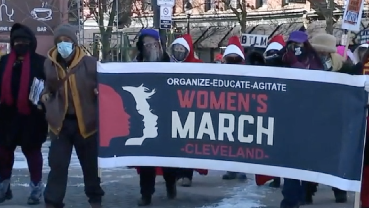 Women's March CLE to rally against controversial Ohio abortion ban bill