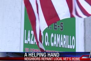 Local vet receives a helping hand