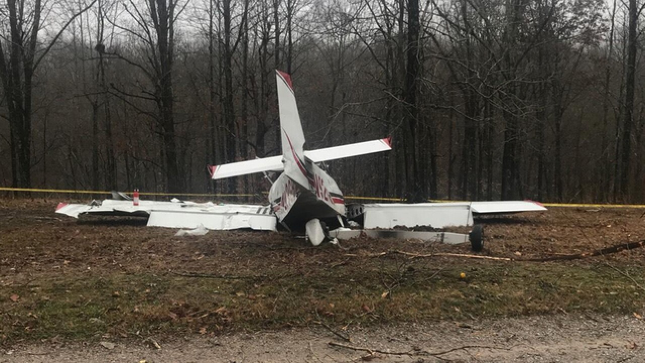 Pilot Killed In Williamson Co. Plane Crash ID'd