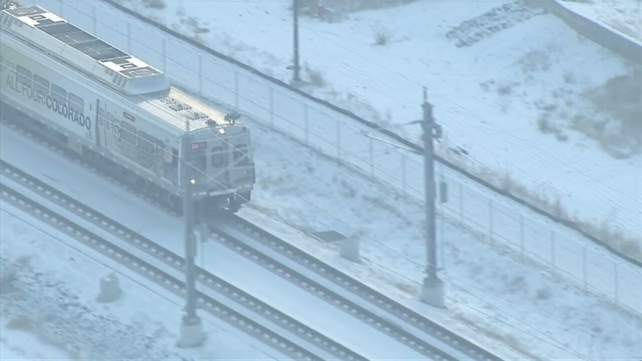 Broken Rail Causes Delay For Rtd A Line Riders Repairs To