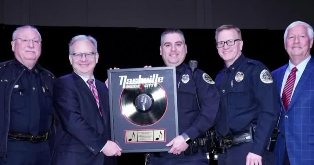 Metro Nashville officer honored with 'Hitmaker' tourism award