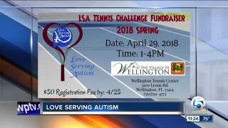 'Love Serving Autism' specializes in therapeutic tennis instruction