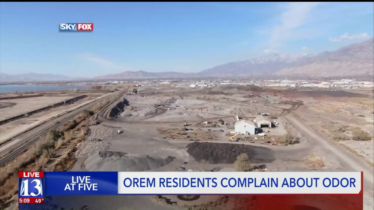 Health and environmental inspectors will investigate foul smell in Orem; old steel plant may be the culprit