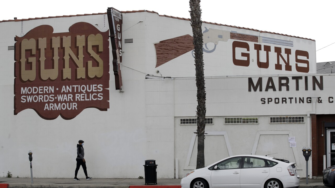 Los Angeles sheriff: gun shops not essential, must close