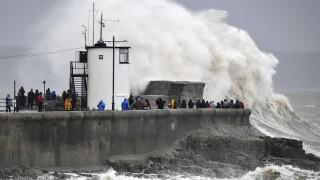 Britain Europe Storm