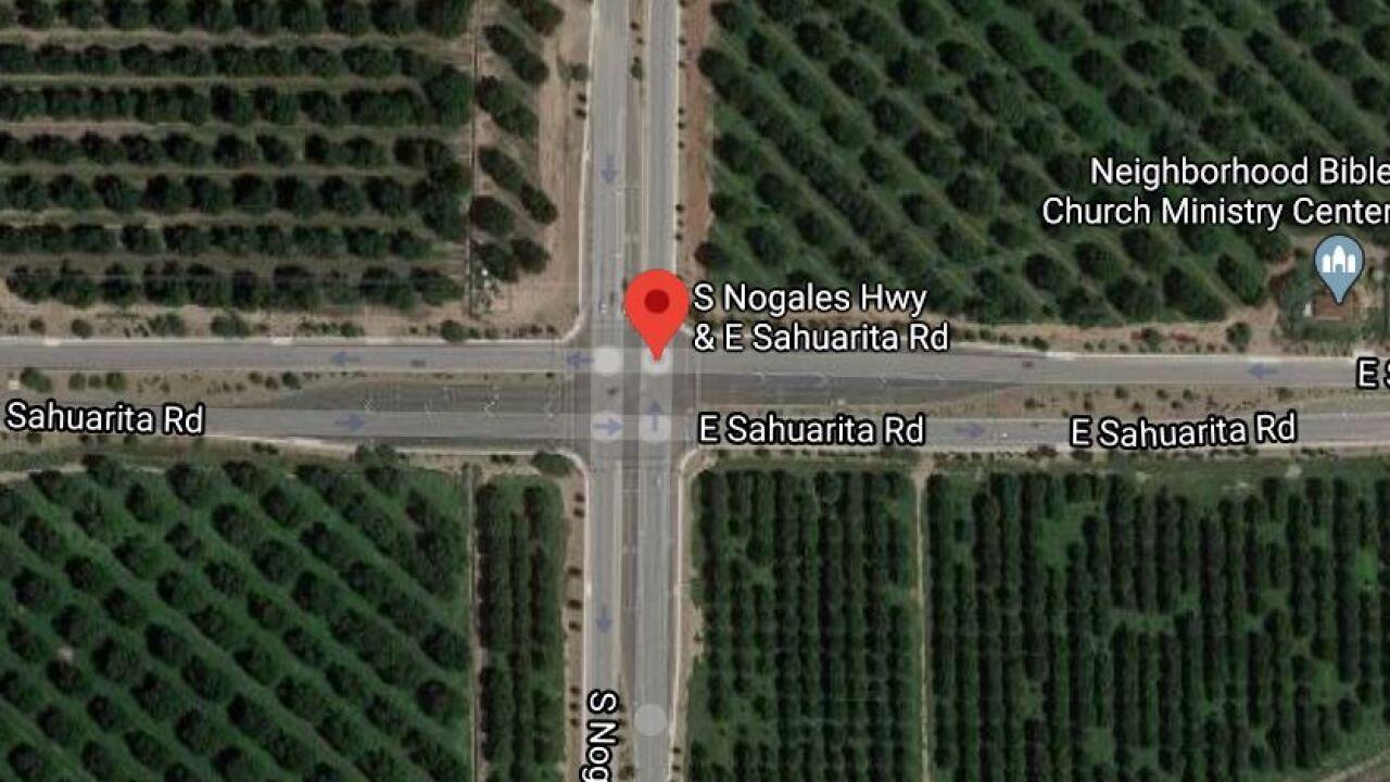 70-year-old motorcyclist dies in Sahuarita crash. Photo via Google Images.