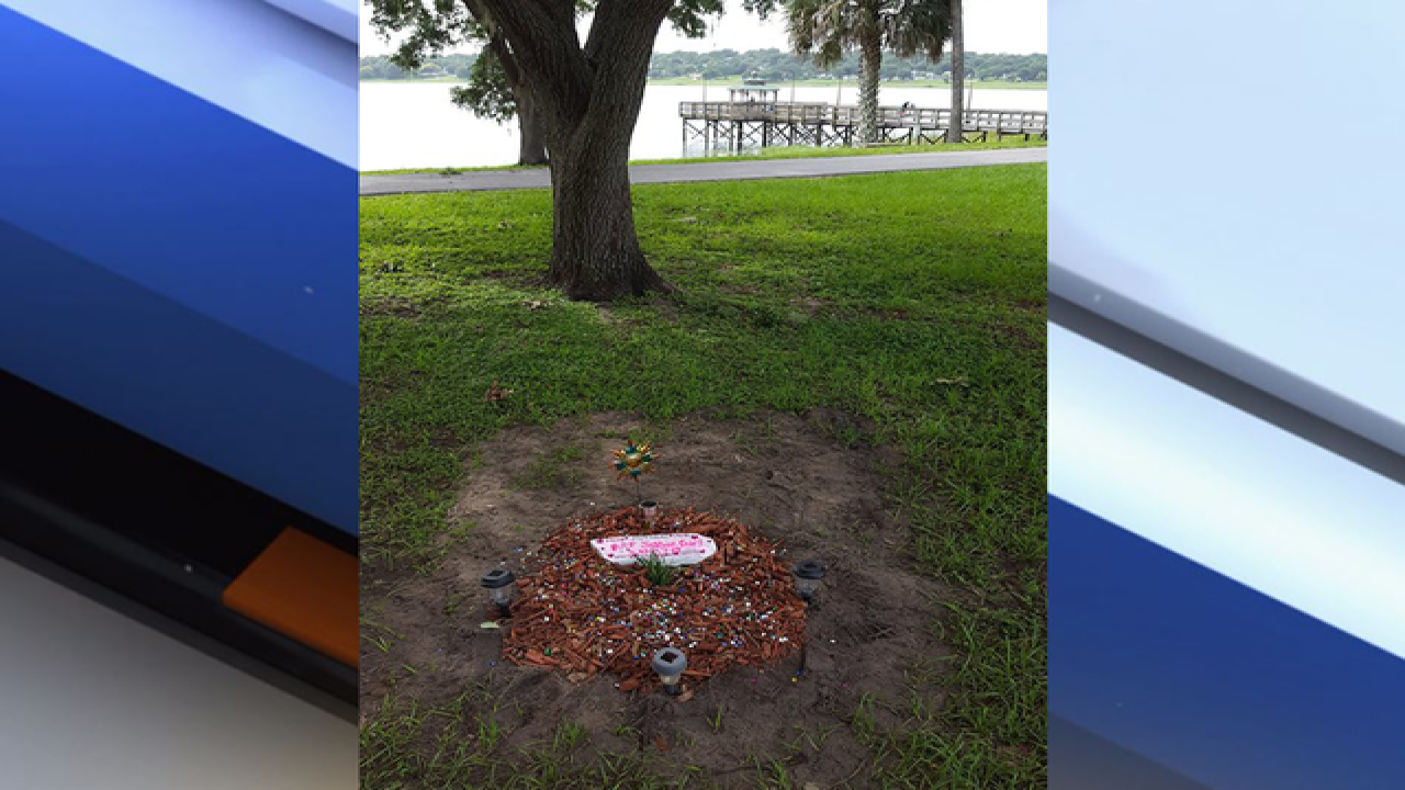 Pet grave pops up at public park in Florida, city gives owner 48 hours to remove it