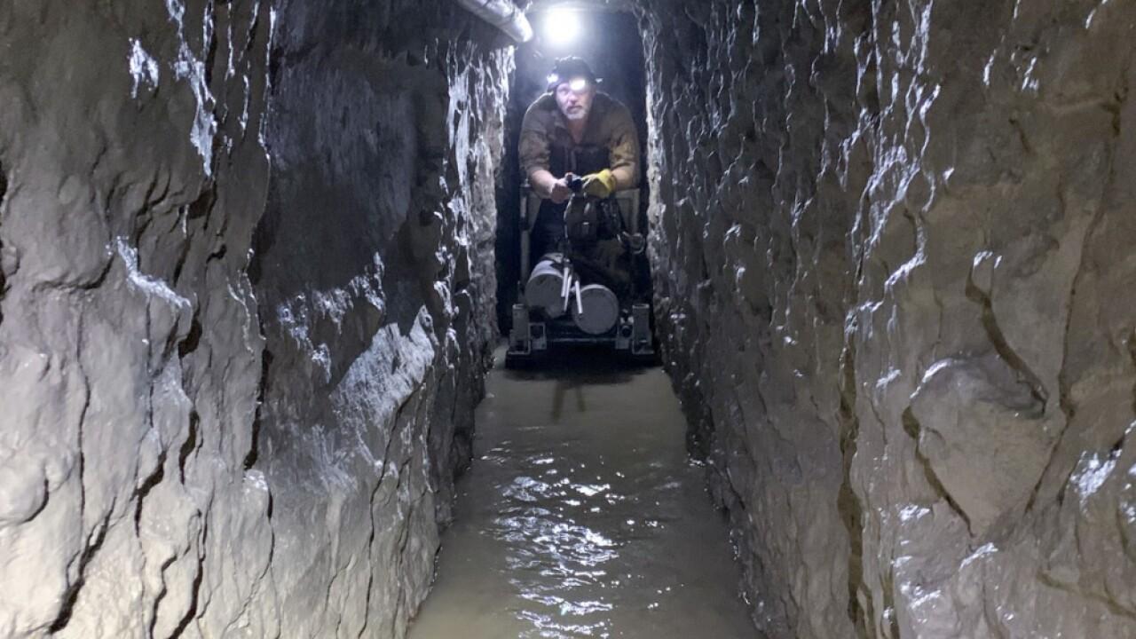 Longest-ever U.S.-Mexico border tunnel found in San Diego