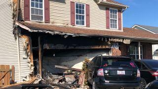 Fairfield township crash and fire
