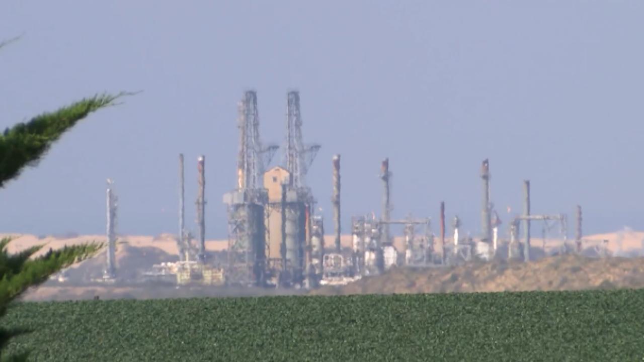 Phillips 66 Oil Refinery
