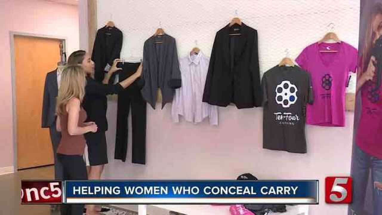 Former Nashville Cop, Turned Fashion Designer, Helping Women Who Conceal Carry