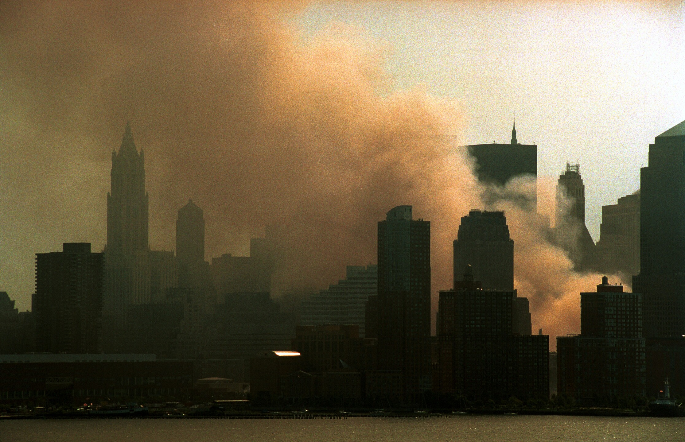 Aftermath of World Trade Center Attack