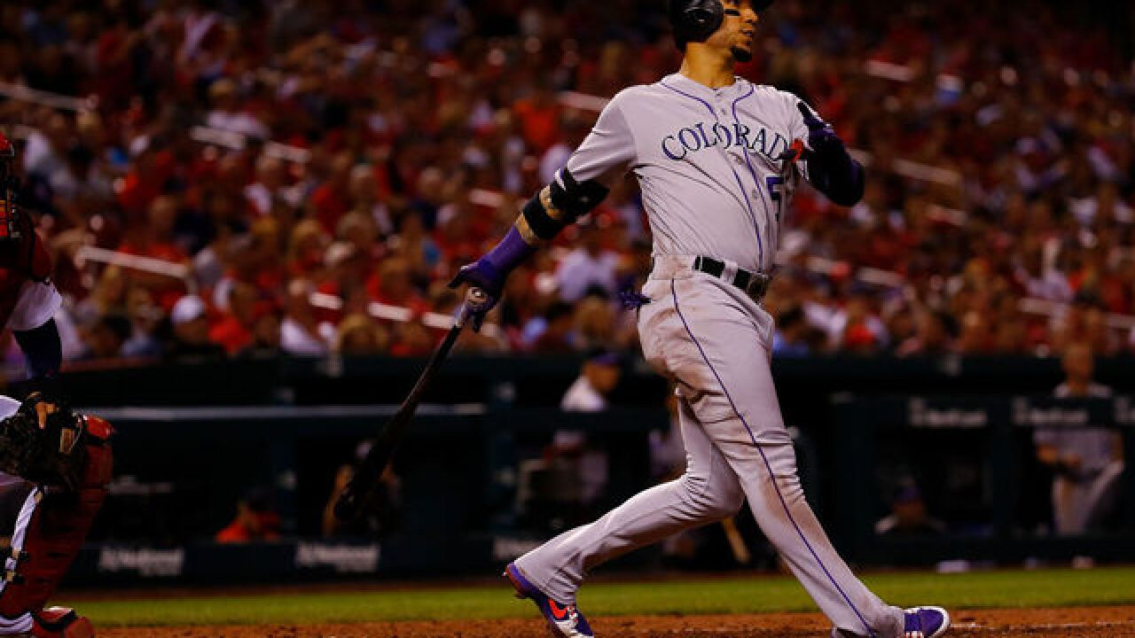 Blackmon, Gonzalez homer to power Rockies past Cardinals 6-3