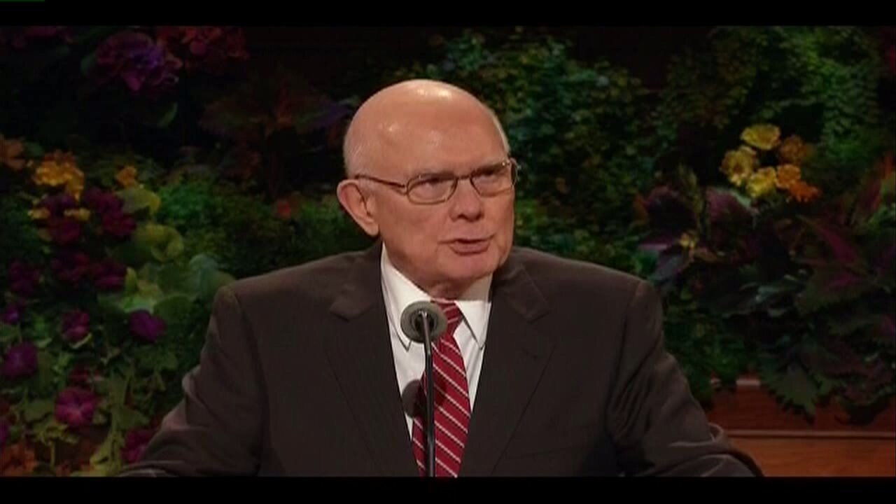 LDS Church leader discusses legal battle over same-sex marriage during semi-annual conference