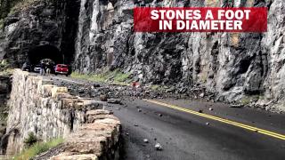 Glacier National Park rockfall killed a teen
