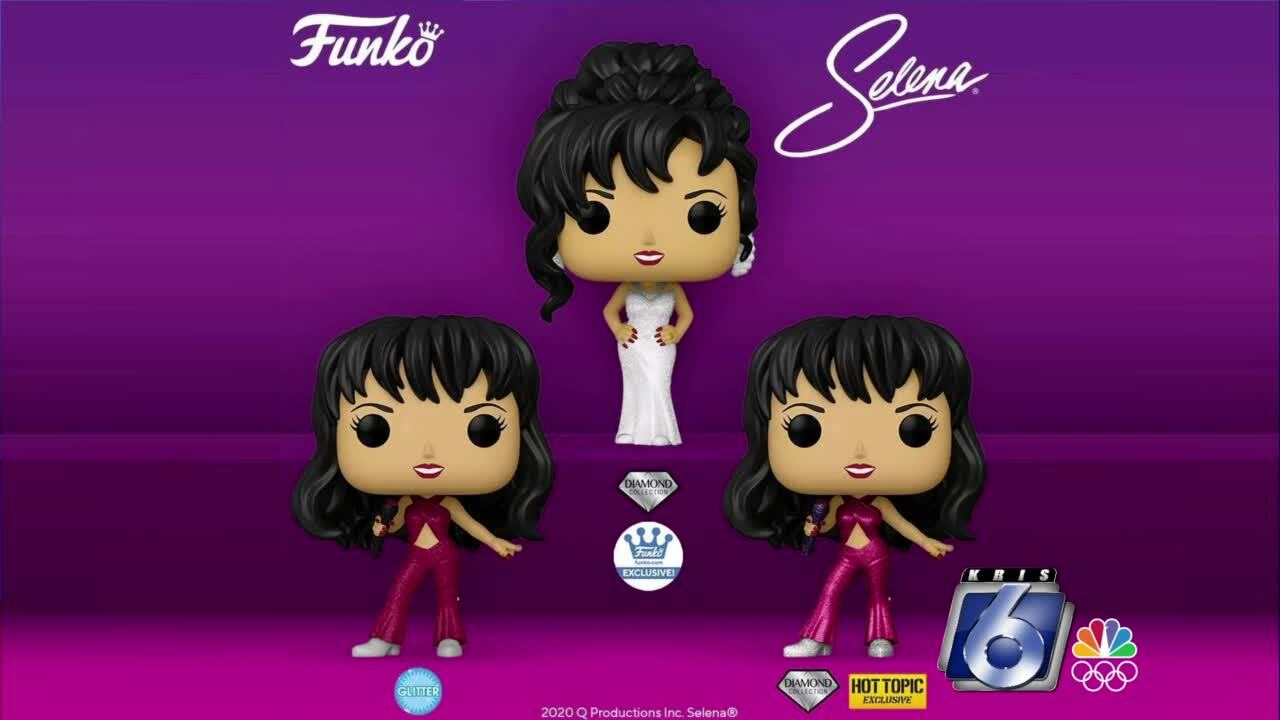 Selena Funko pop figures are selling fast