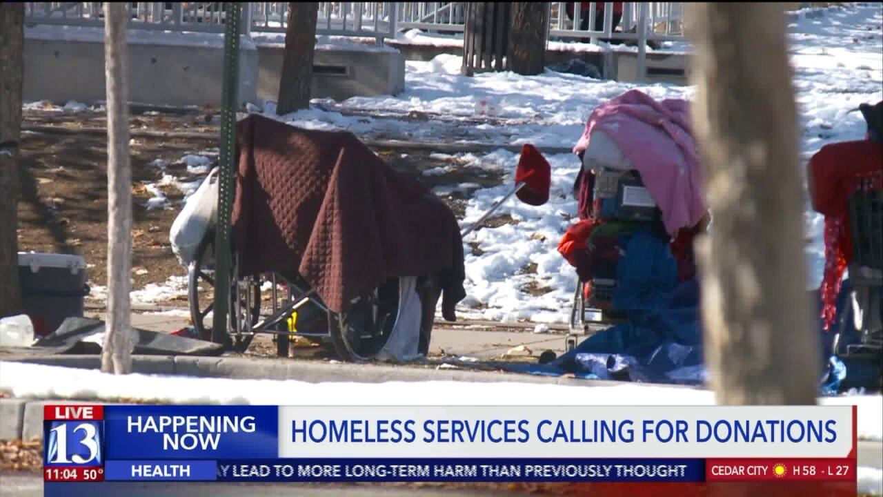 Homeless advocates ask community for donations as winter approachesUtah