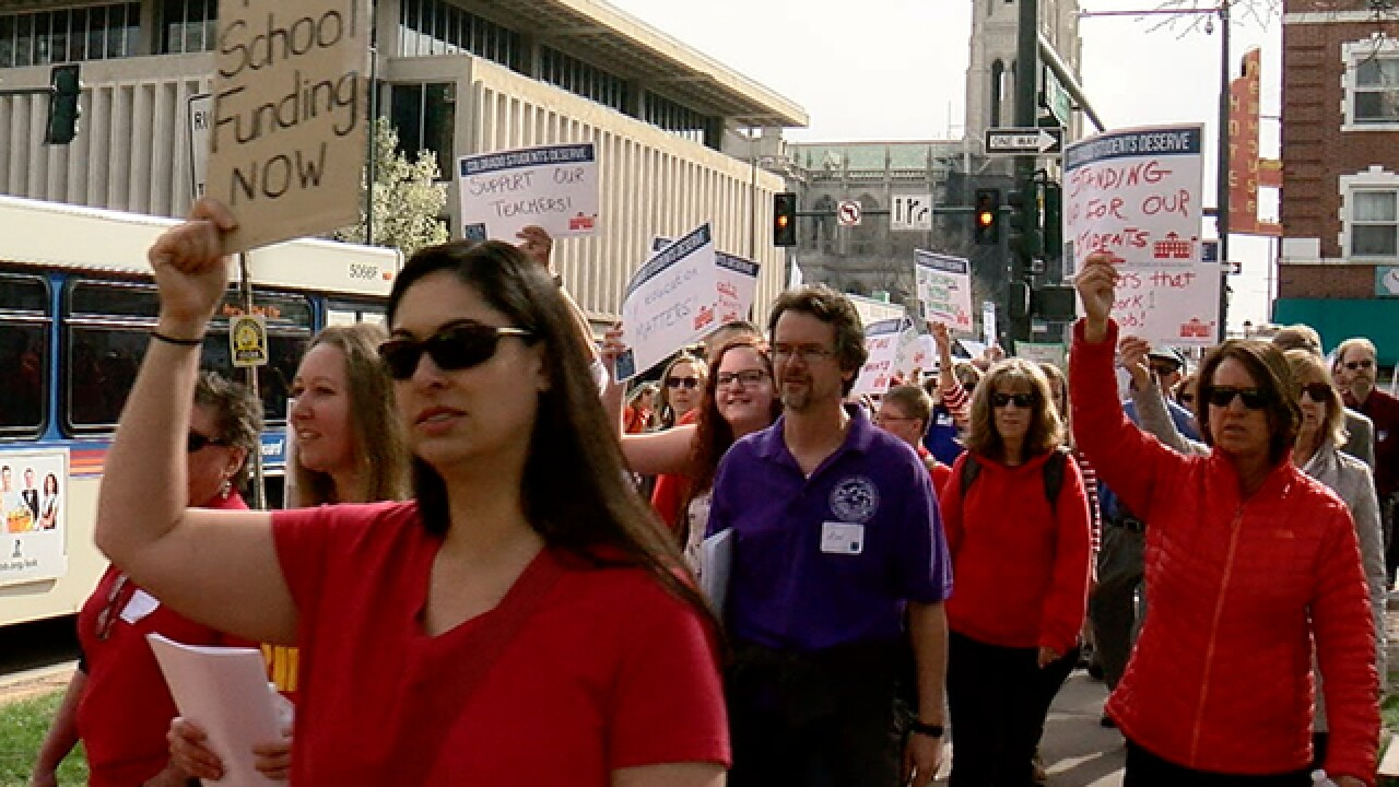 Red for Ed Rally and march to be held today