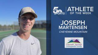 KOAA Athlete of the Week: Cheyenne Mountain's Joseph Martensen