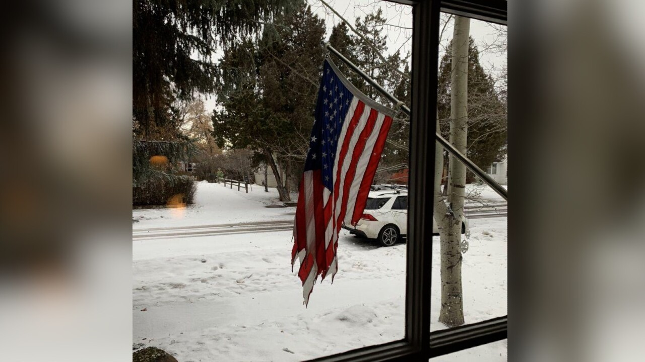 'Cowardly act:' Bozeman police investigate American flag arson