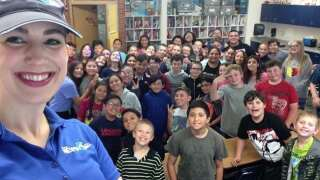 Storm Safe visits South Mesa Elementary