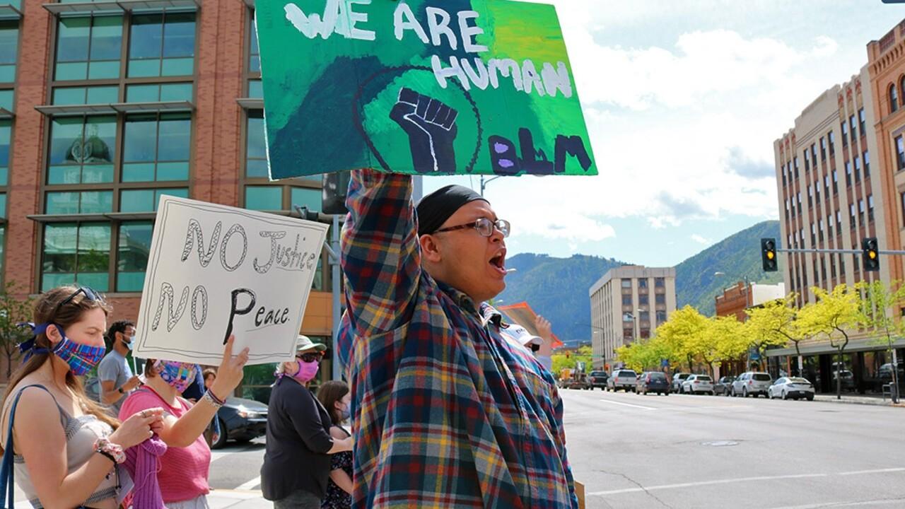 Missoula Floyd Protest