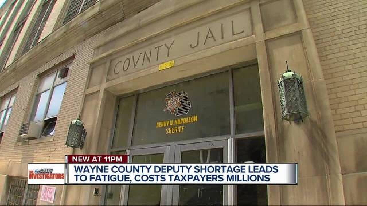 Deputy shortage costs Wayne Co. millions in OT