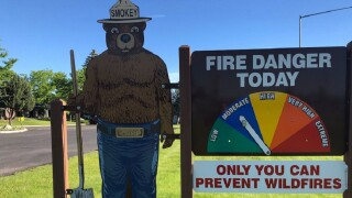 """Fire danger hiked to """"moderate"""" in Missoula County"""