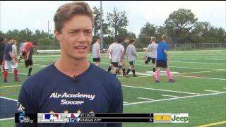 KOAA Athlete of the Week: Thad DeWing, Air Academy