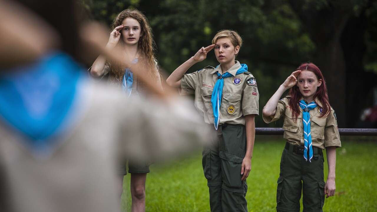 Girls in Boy Scouts of America
