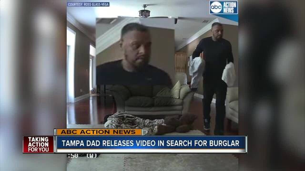 Tampa PD search for theft suspect