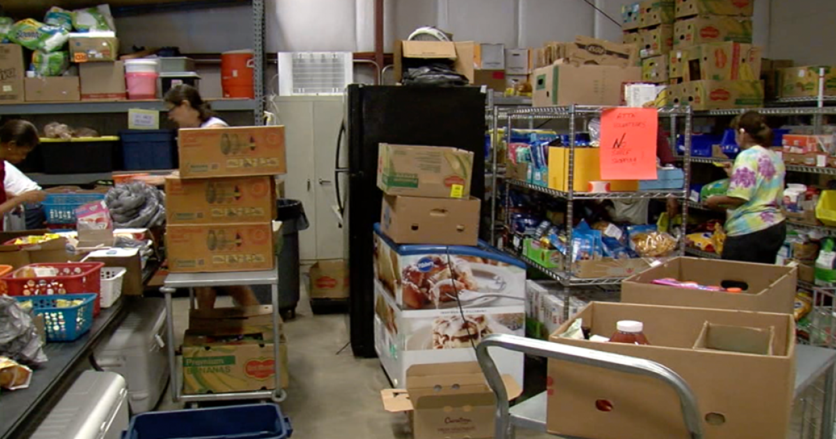 St. Pete food pantry grows from small closet to warehouse to help serve 500 people every week