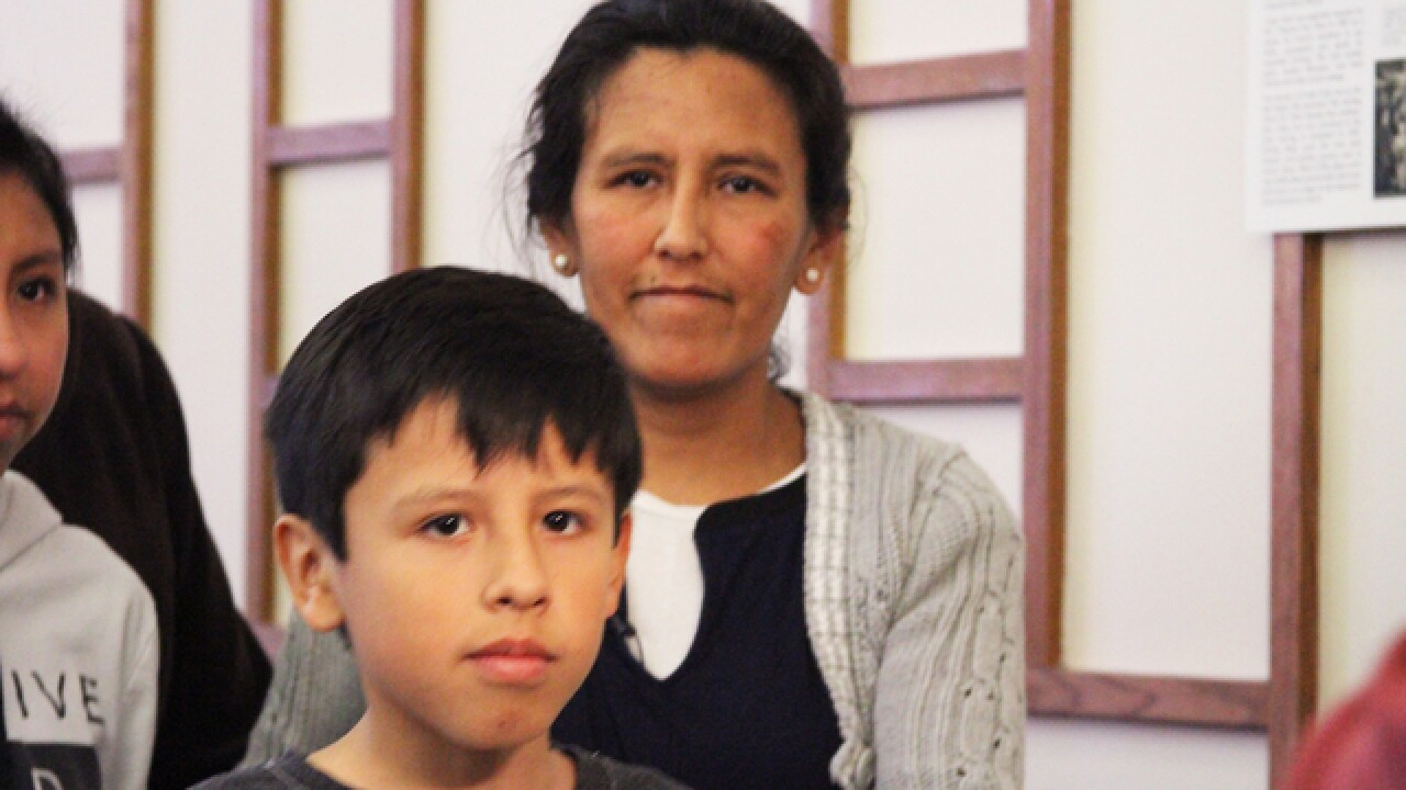 Photos: Undocumented mother of 3 US citizens faces deportation while awaiting visa in Denver