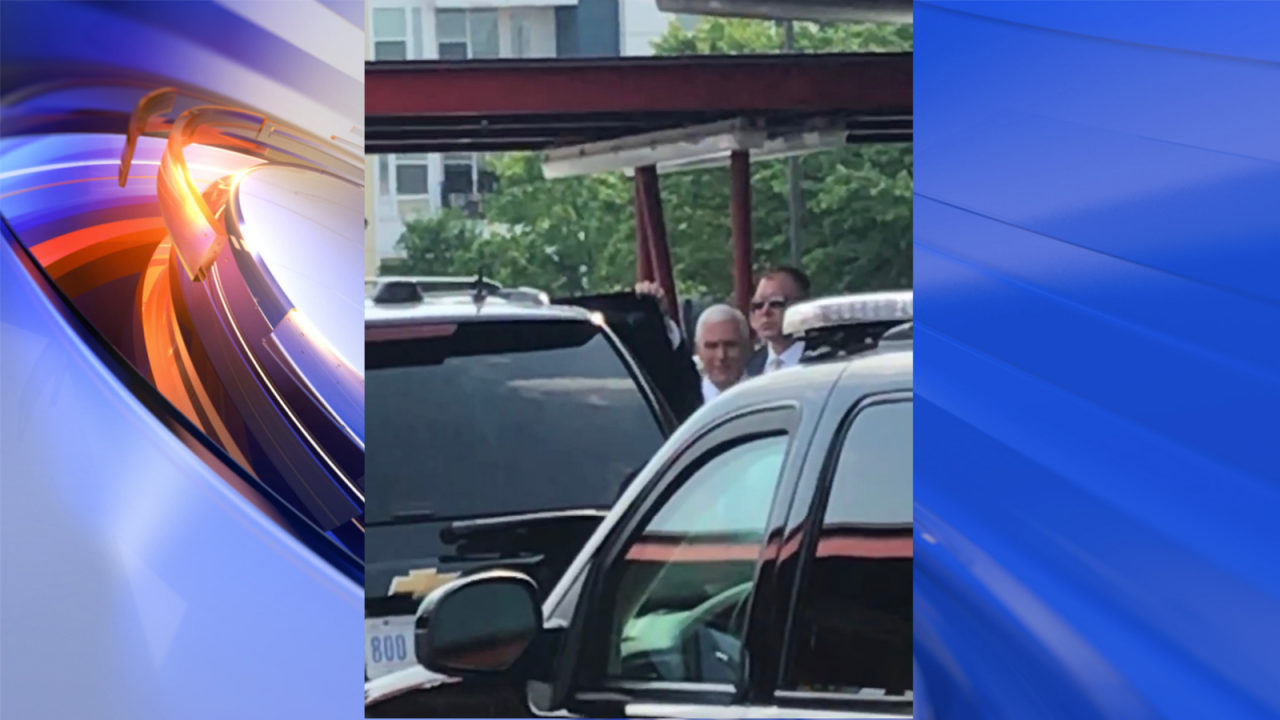 Vice President Mike Pence stops by Norfolk restaurant for quick bite toeat