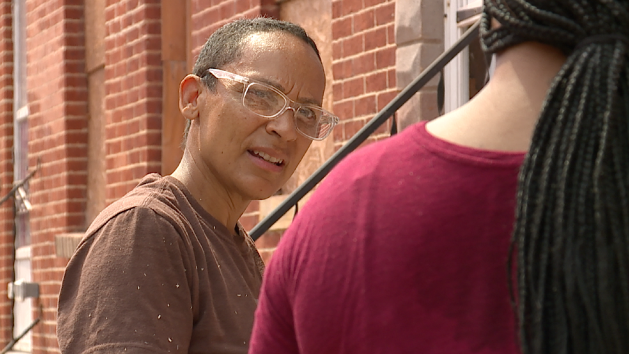 Non-profit construction crews rehab homes in West Baltimore