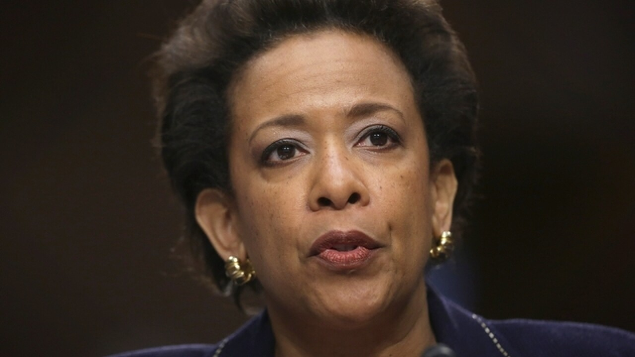 Attorney General says Clinton investigation not clouded by Obama endorsement