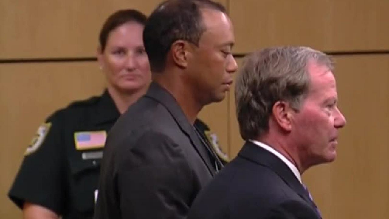 Tiger Woods resolves DUI case, pleads guilty to reckless driving