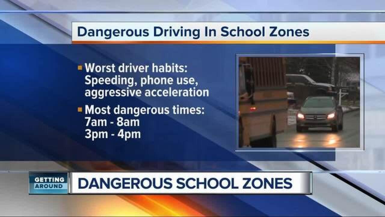 Most dangerous school zones in metro Detroit