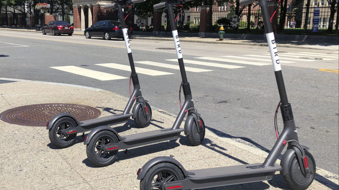 Oklahoma City permits rental locations for electric scooters