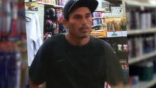Dollar store robbery suspect