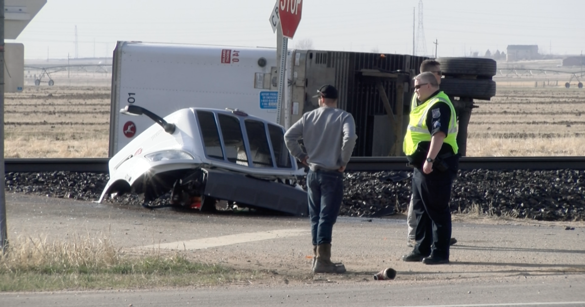 two men who died in weld county semi  train crash identified