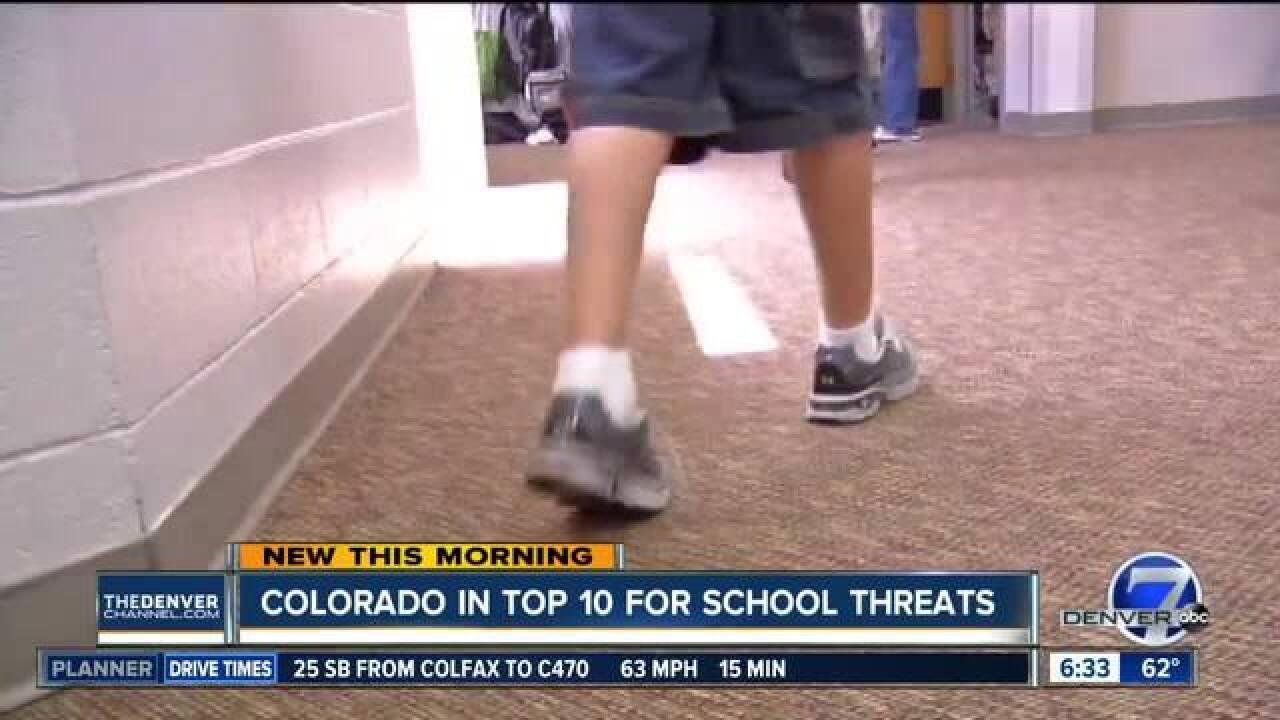 Colorado ranked in top 10 for school violence