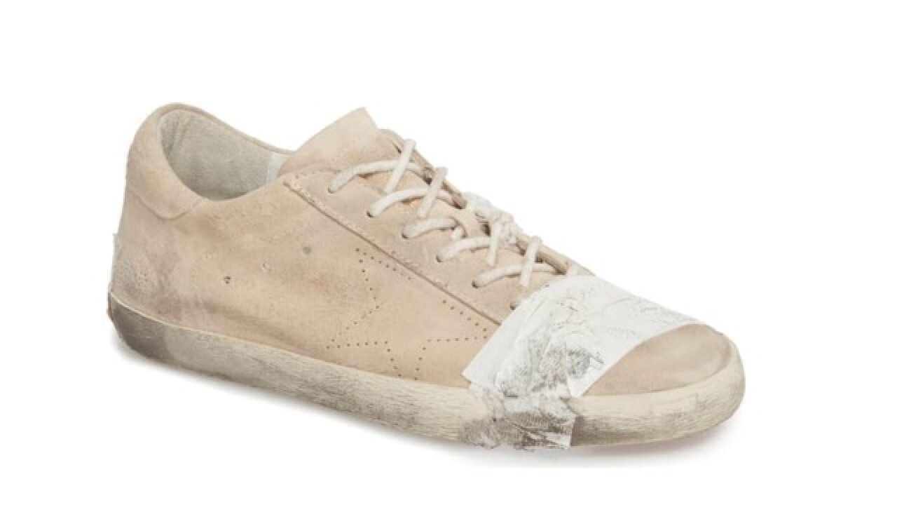 Nordstrom sells out of dirty-looking, $530 shoes with duct tape