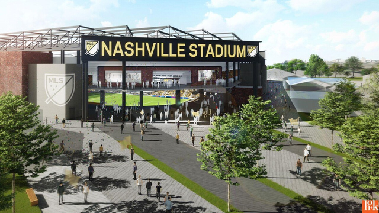 Plan Released For MLS Stadium