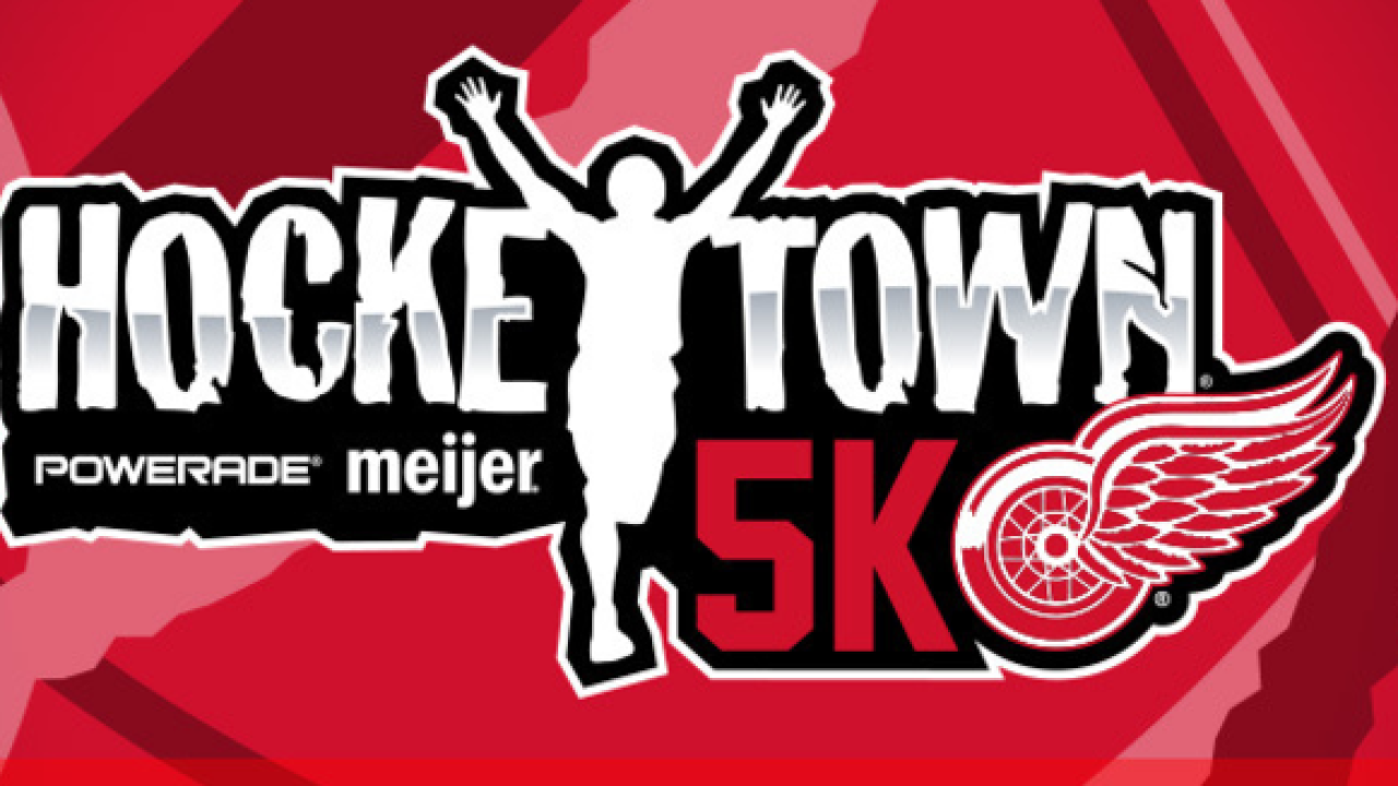 Red Wings to host Hockeytown 5K in September